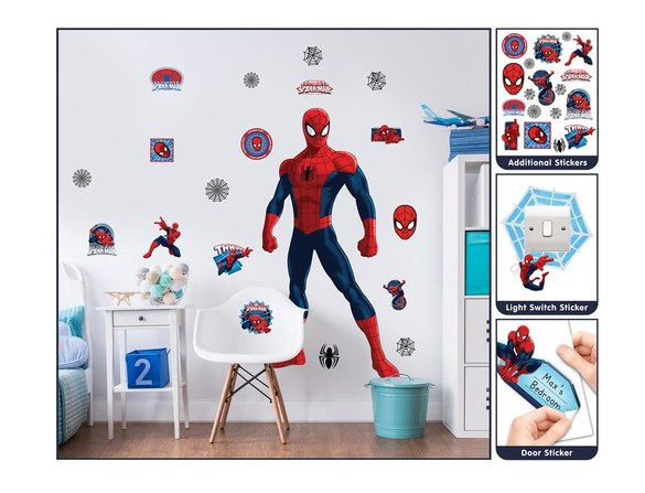 DD-430 Spiderman Large Character wall sticker