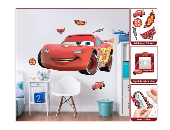 DD-436 Disney Cars Large Character wall sticker