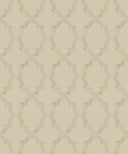 AR Ornamenttapete Lincoln Hellbeige
