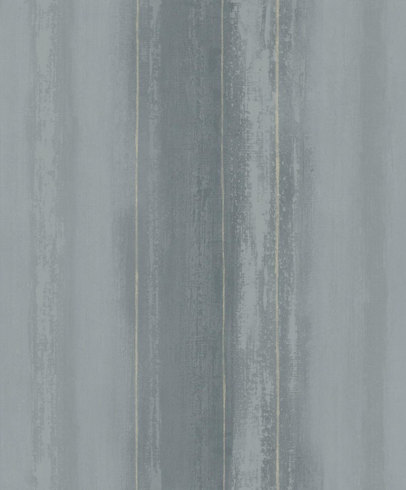 AR Streifentapete Lesley Blaugrau