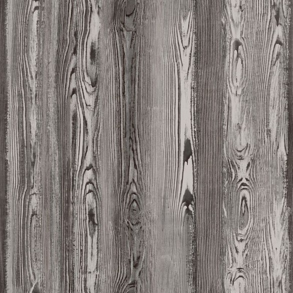 AR wood wallpaper Iven anthracite
