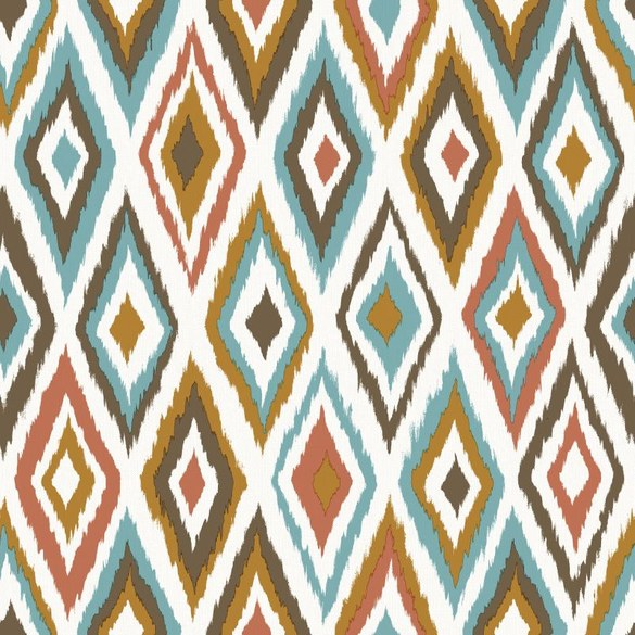 AR Geometrische Tapete Wanda Weiß