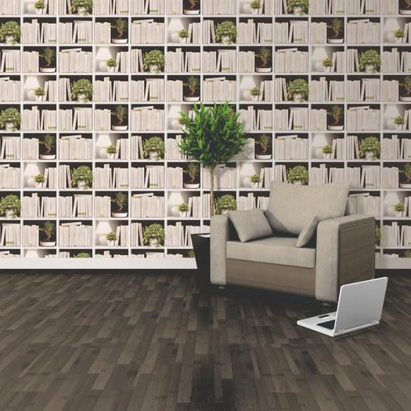 GU Moderne Tapete Litery Weiß – Bild 2