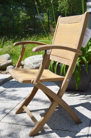 Gartenklappsessel Windsor aus Tropen-Hartholz Itauba (2 Stk.)