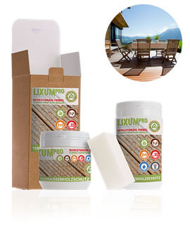 LIXUM Pro Biologischer Terassenholzschutz