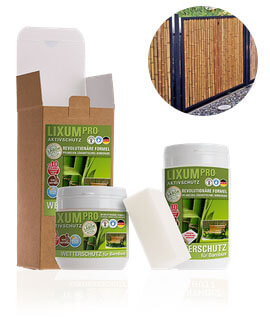 LIXUM Pro Biologischer Wetterschutz Bambus