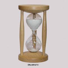 Sanduhr Stundenglas Eieruhr Buche 15 min Sanduhren NEU