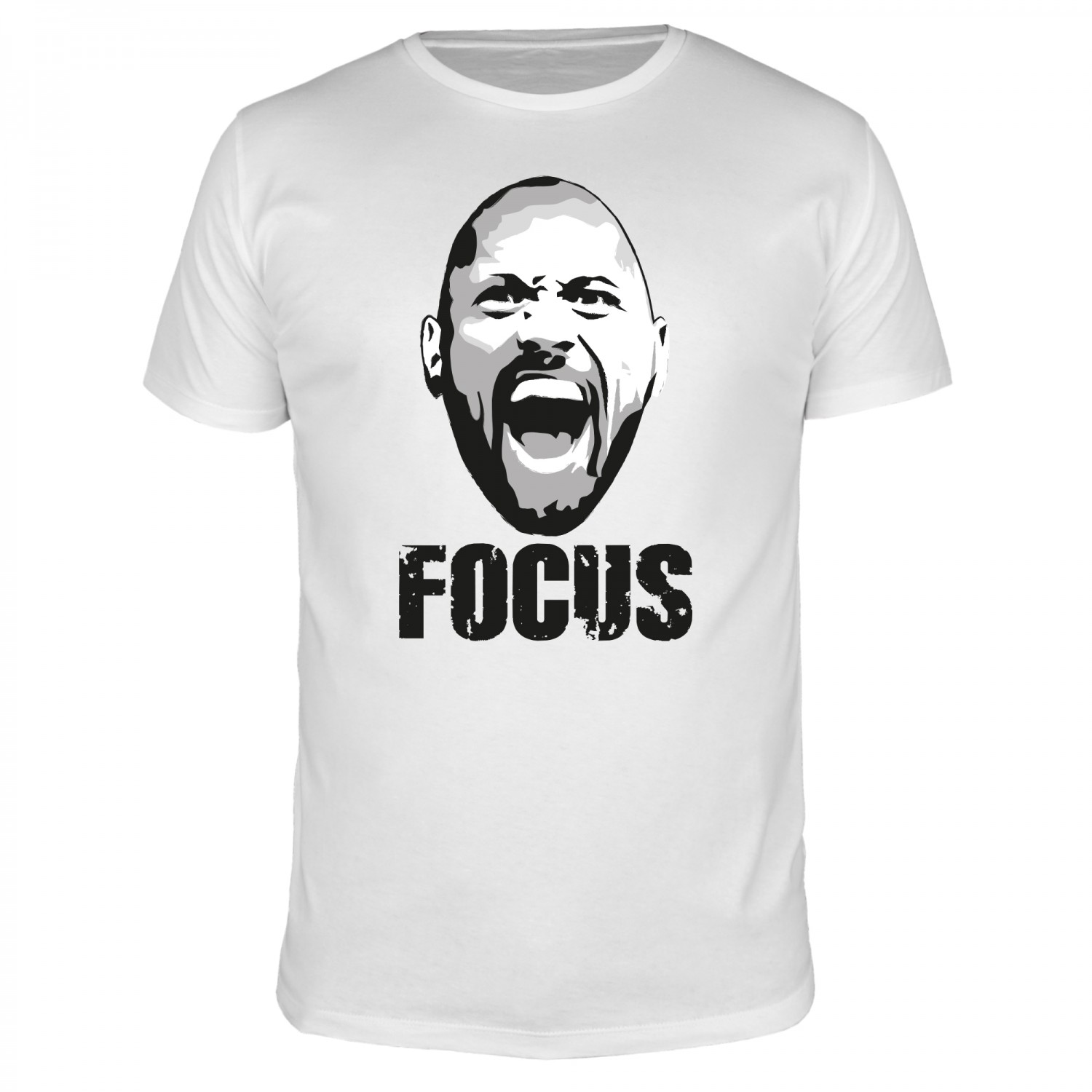 Focus The Rock - Männer T-Shirt