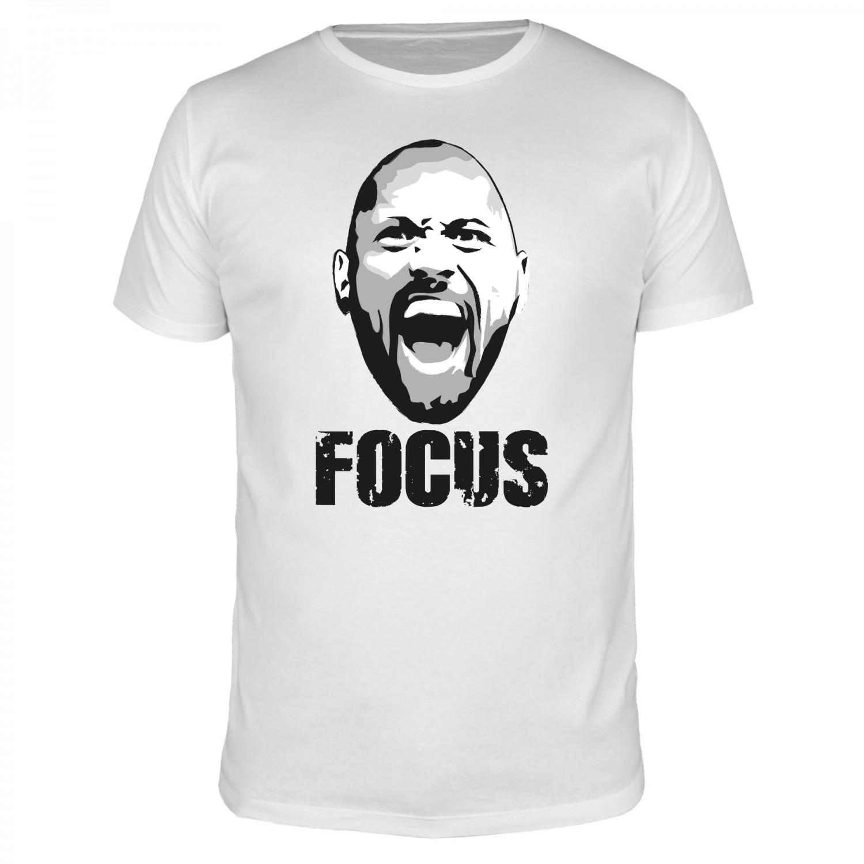 Focus The Rock - Männer T-Shirt