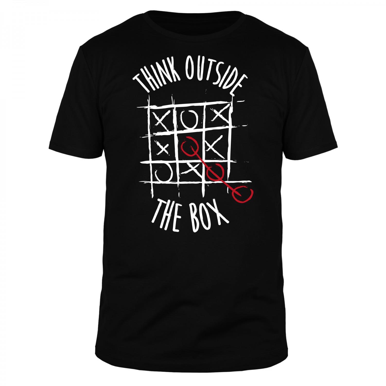 Think Outside The Box V2 - Männer Organic T-Shirt