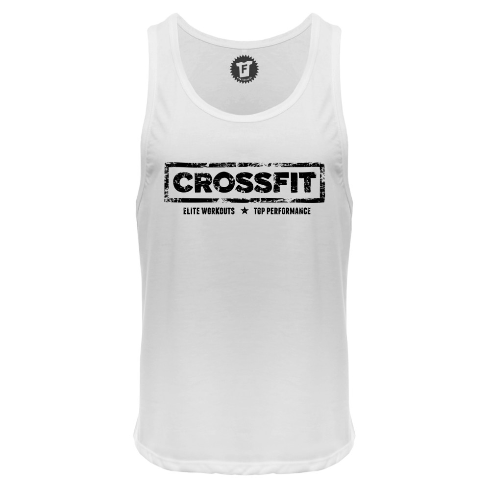 Crossfit - Männer Deep Cut Tank Top
