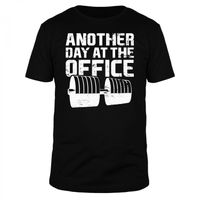 Another Day At The Office - Männer Organic T-Shirt