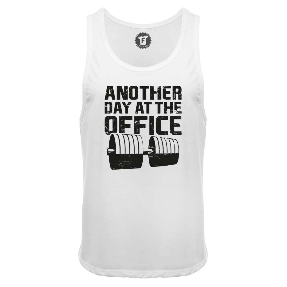 Another Day At The Office - Männer Deep Cut Tank Top