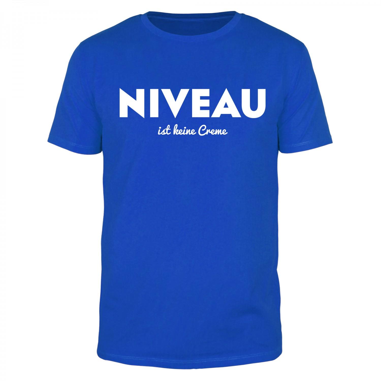 NIVEAU ist keine Creme - Männer T-Shirt