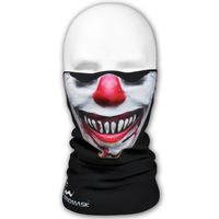 WINDMASK Ski Snowboard Winter Microfleece Tube - Evil Clown