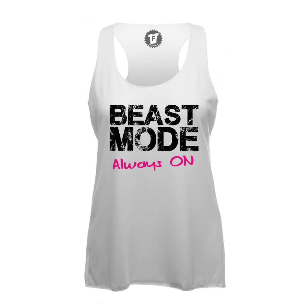 Beast Mode Always On - Lady Loose Tank Top