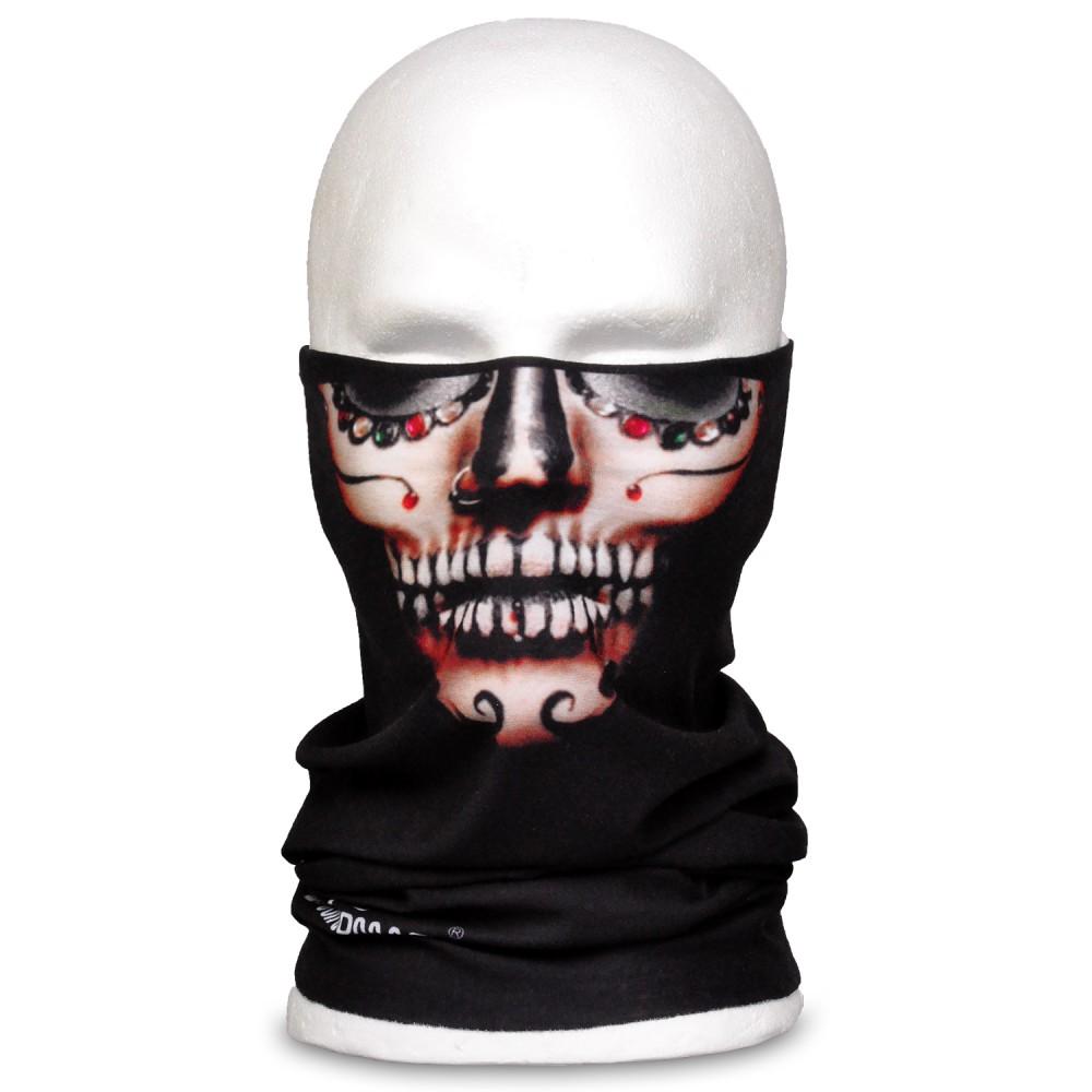 WINDMASK Tube - Mexican Skull