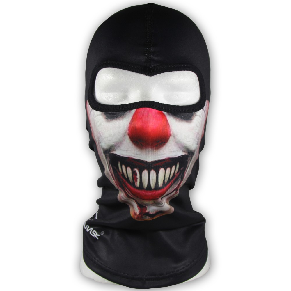 WINDMASK - Evil Clown - Sturmhaube Poly