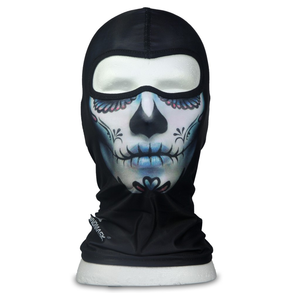 WINDMASK - Mexican Lady Skull - Sturmhaube Poly