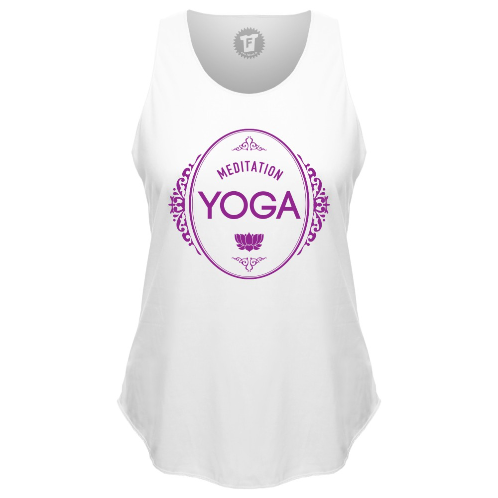 Meditation Yoga - Loose Tank Top runder Bund