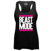 Beast Mode Pink - Lady Loose Tank Top