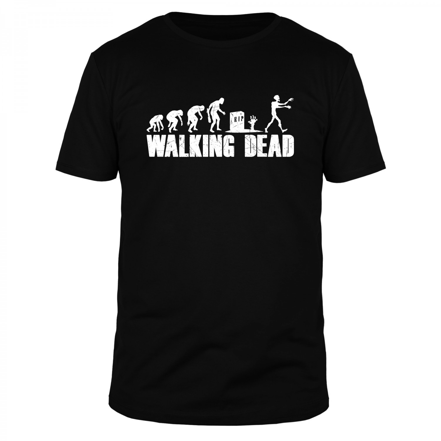 Walking Dead Evolution - Männer T-Shirt