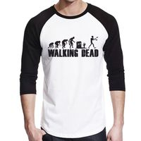 Walking Dead Evolution Baseball - Männer Longsleeve Shirt