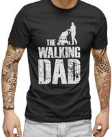 The Walking Dad - Männer T-Shirt | Plus 2 Gratis Aufkleber |