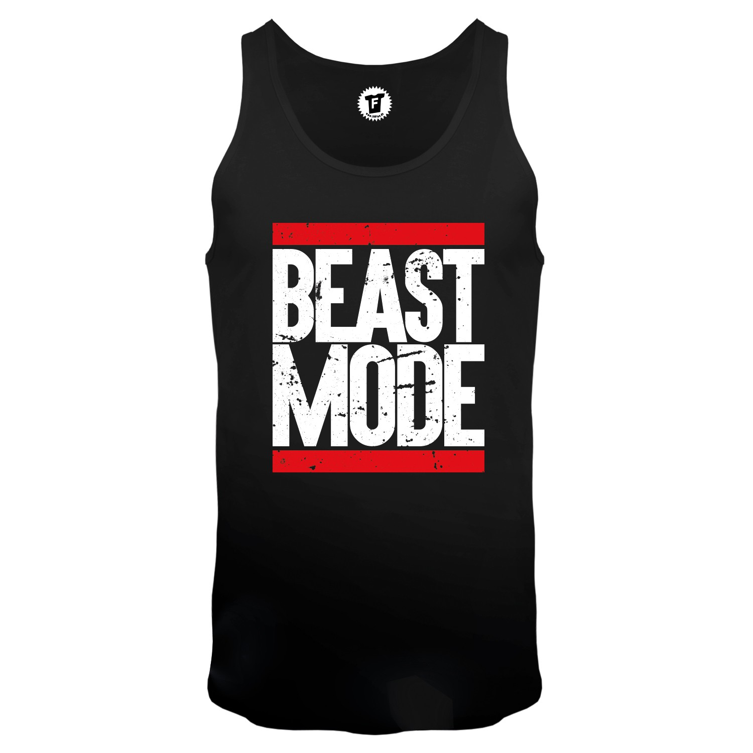 Beast Mode Run - Männer Tank Top