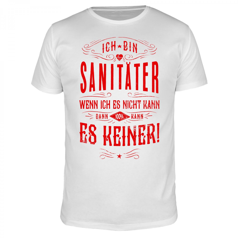 Ich bin Sanitäter - Männer T-Shirt