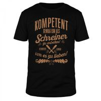 Kompetenter Schreiner - Männer T-Shirt