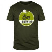 Landwirt im Einsatz - Männer T-Shirt
