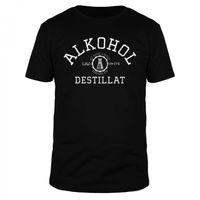 Alkohol ist keine Lösung - Destillat - Männer Organic T-Shirt
