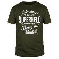 Schreiner Superheld - Männer T-Shirt