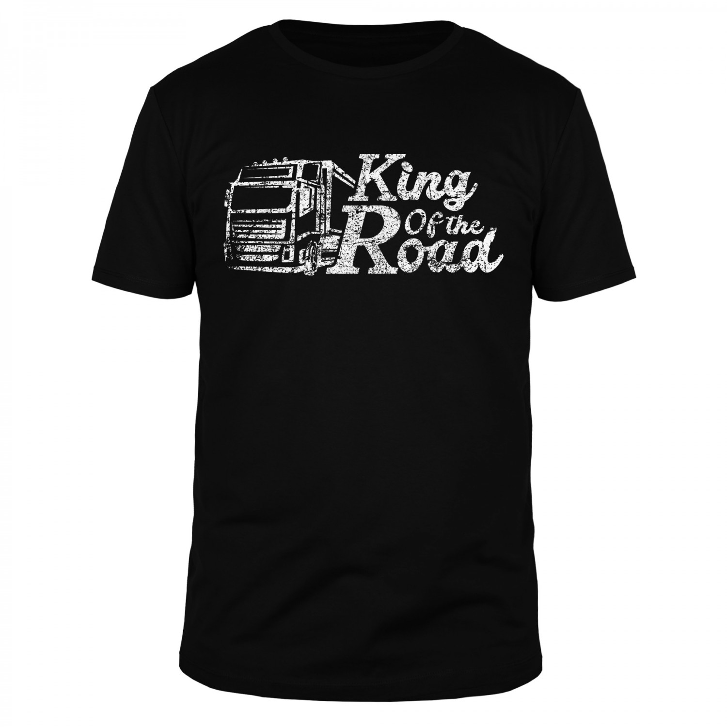 Trucker - King of the Road - Männer T-Shirt