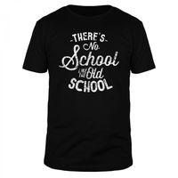 There's no school like the old school - Männer Organic T-Shirt