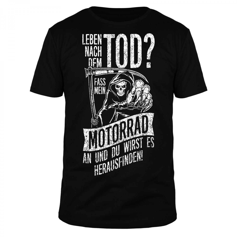 Leben nach dem Tod - Männer Organic T-Shirt