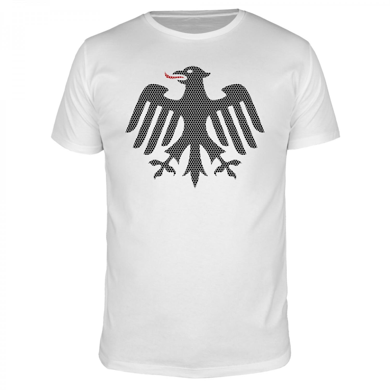 Adler Punkte - Fußball WM - Männer T-Shirt