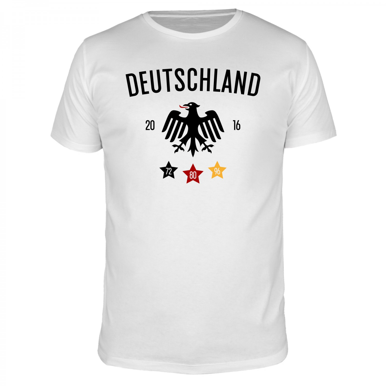 Deutschland Adler - Fußball EM - Männer T-Shirt