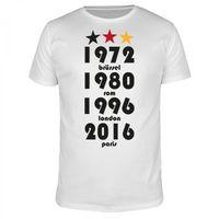 72 80 96 16 und Stadt - Fußball EM - Männer T-Shirt