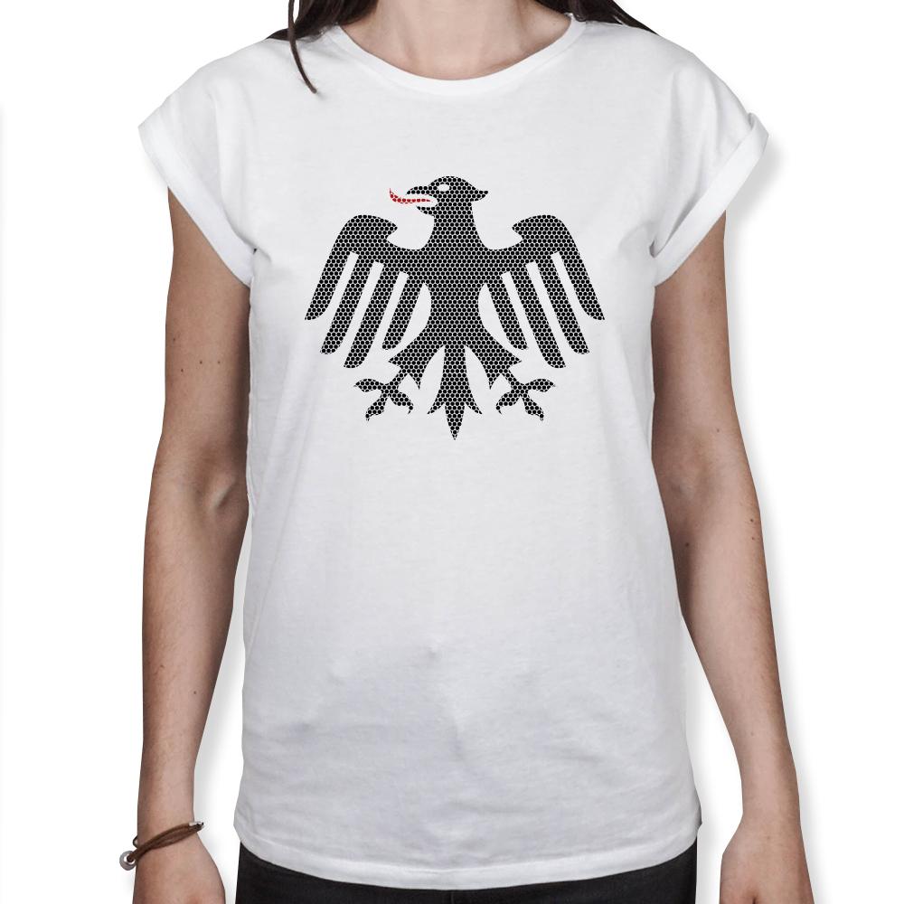 Adler Punkte - Fußball WM - Frauen T-Shirt