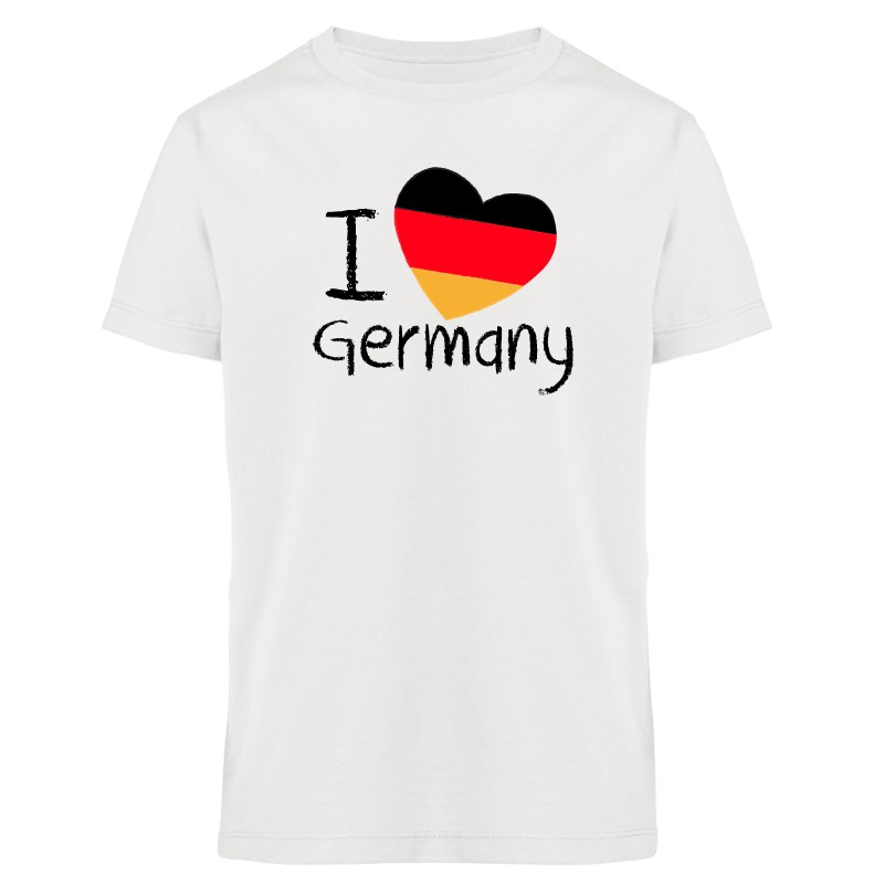 I love Germany - Fußball WM - Kinder T-Shirt