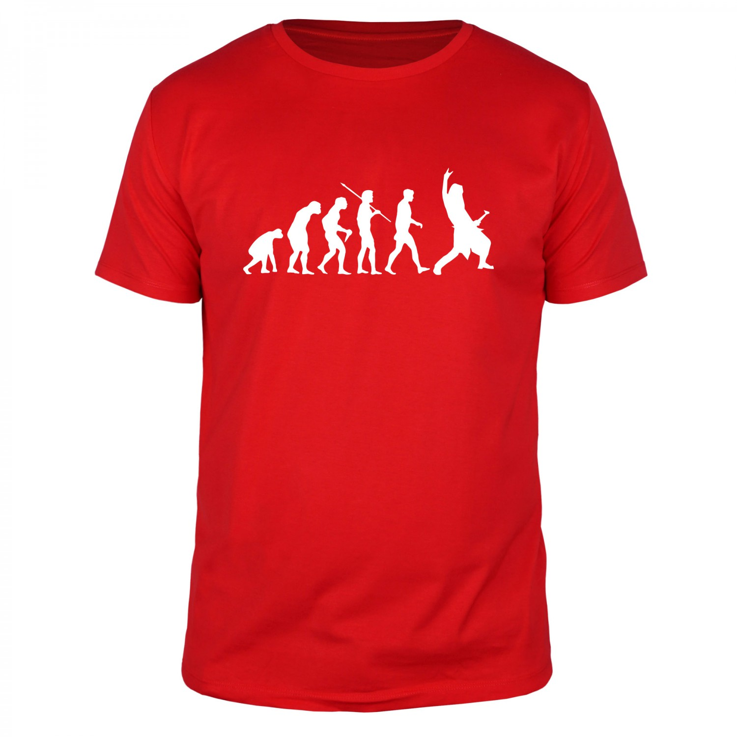 Evolution Rockmusic - Männer T-Shirt
