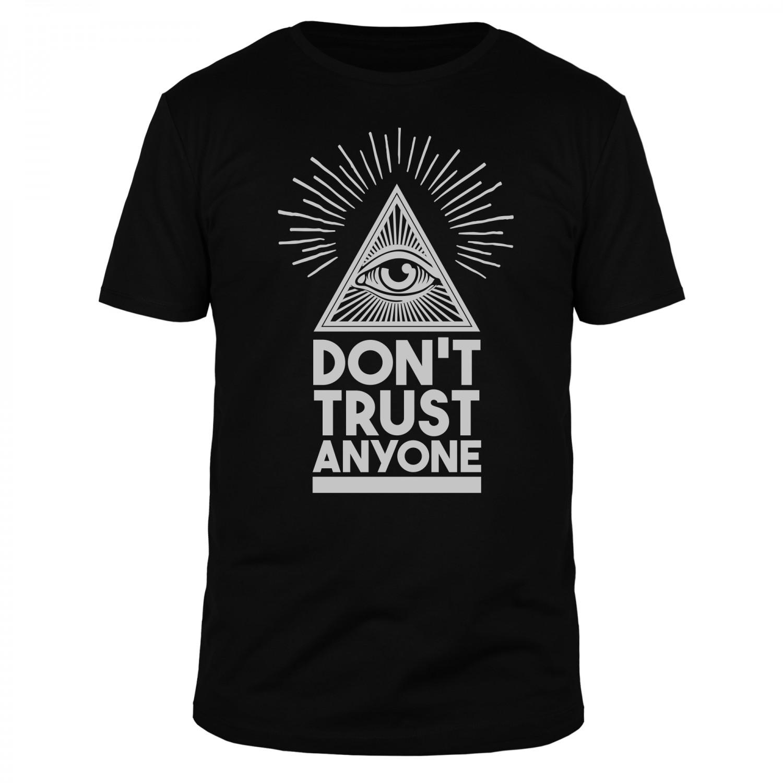 Don't Trust Anyone - Männer T-Shirt