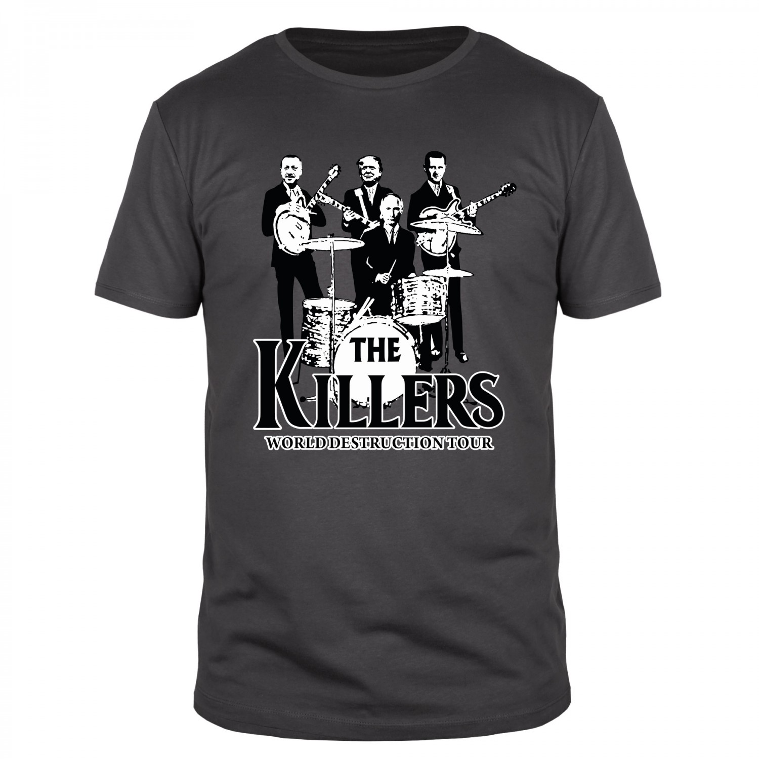 The Killers World Destruction Tour 2017 - Männer Organic T-Shirt