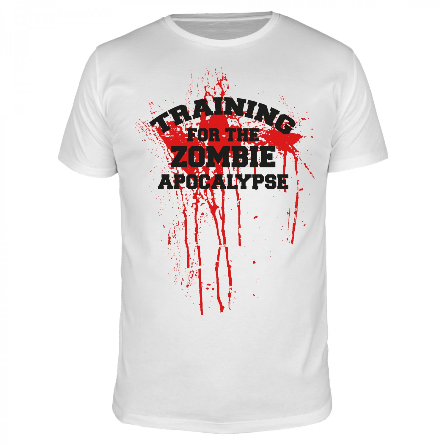 Training for the Zombie Apocalypse - Männer Organic T-Shirt