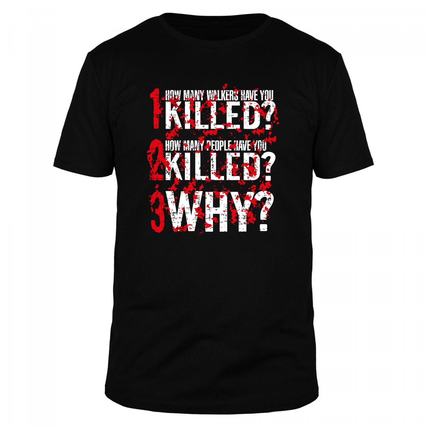 How many walkers have you killed - Männer Organic T-Shirt