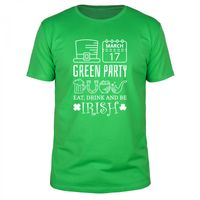 St. Patricks Day - Green Party - Männer T-Shirt