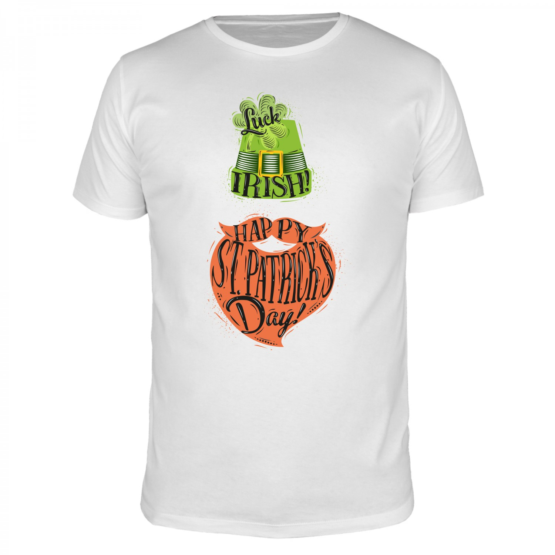 St. Patricks Day - Happy - Männer Organic T-Shirt