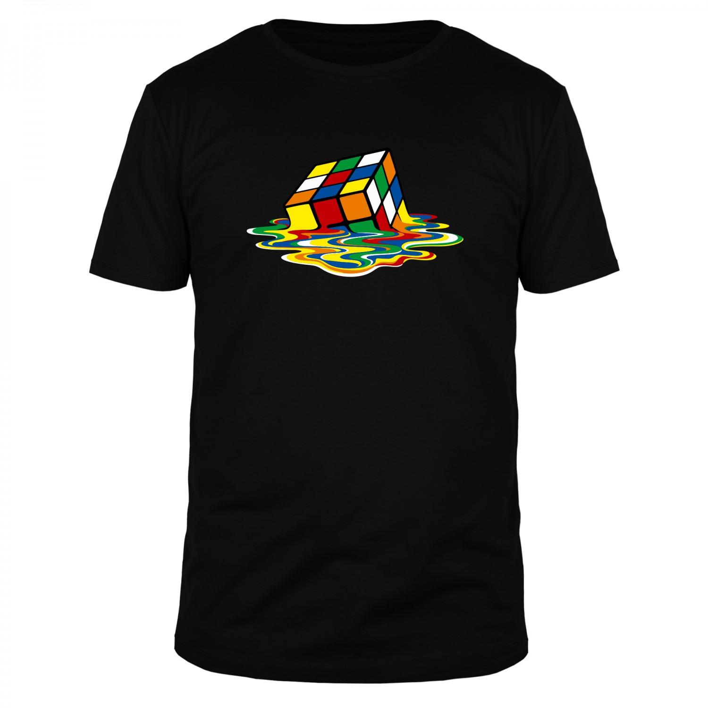 Zauberwürfel Sheldon - Männer T-Shirt